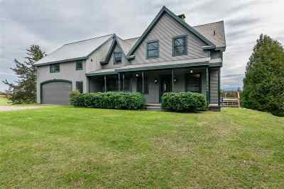 South Hero Single Family Home For Sale: 82 Town Line Road