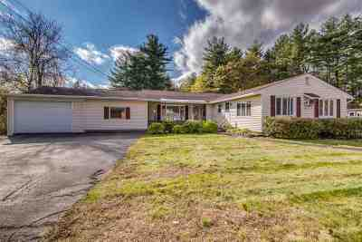 Goffstown Single Family Home Active Under Contract: 496 Mast Road