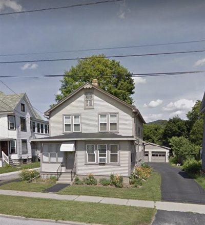 Rutland VT Single Family Home For Sale: $132,000