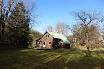 Woodstock Single Family Home For Sale: 3369 Hartland Hill Road