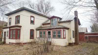 Berkshire, Montgomery, Richford Single Family Home For Sale: 368 Montgomery Road