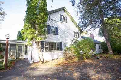 Raymond Single Family Home For Sale: 39 Old Manchester Road Road
