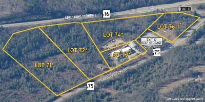 Milton Residential Lots & Land For Sale: Commerce Way #71, 72,