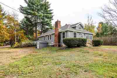 Goffstown Single Family Home For Sale: 12 Shirley Park Road