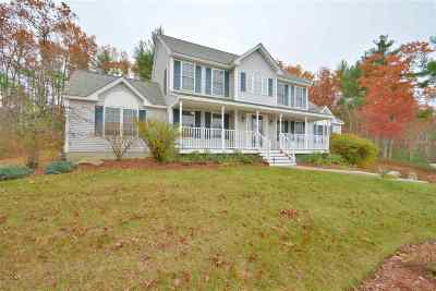 Hooksett Single Family Home Active Under Contract: 25 Post Road