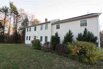 Tilton Single Family Home For Sale: 244 Calef Hill Road