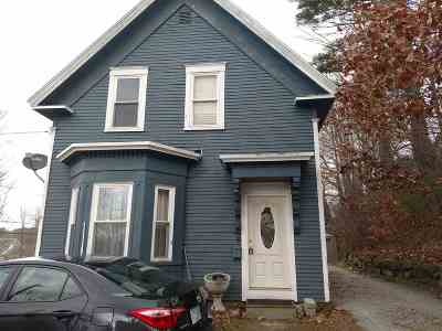 Single Family Home For Sale: 33 Russell Street