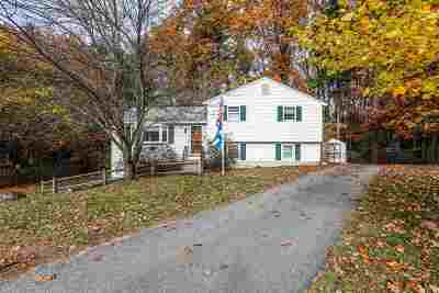 Merrimack Single Family Home Active Under Contract: 20 Cota Road