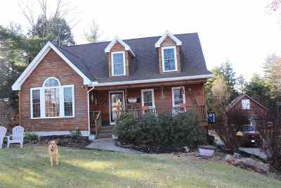 Barrington Single Family Home For Sale: 64 Autumn Lane