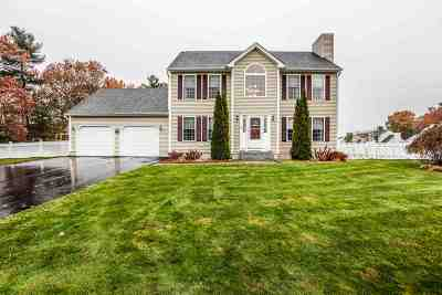Hooksett Single Family Home Active Under Contract: 68 Lindsay Road