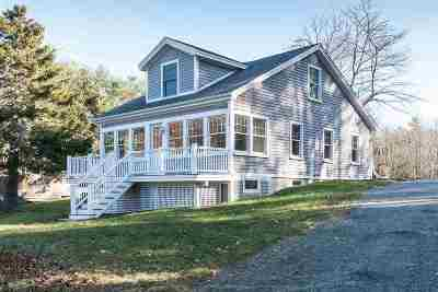 York Single Family Home Active Under Contract: 1393 Us Route 1