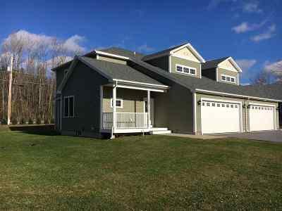Williston Condo/Townhouse For Sale: 1454 Mountain View Road Road