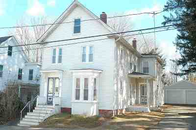 Somersworth Multi Family Home For Sale: 16 Lincoln Street