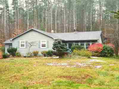 Bow Single Family Home Active Under Contract: 25 Hooksett Turnpike