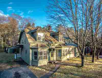 Conway Multi Family Home For Sale: 781 Kearsarge Road