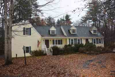 Raymond Single Family Home For Sale: 5 Country View Drive