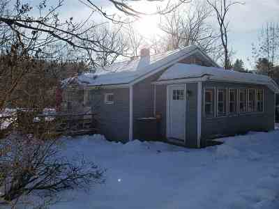 Lyndon Single Family Home For Sale: 179 South Wheelock Road
