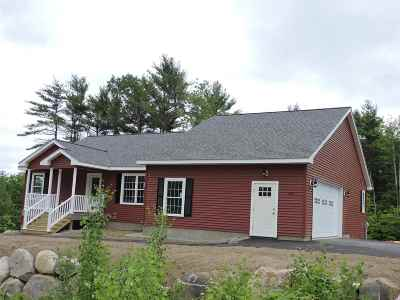 Gilford Single Family Home For Sale: Cherry Valley Road #Lot 3