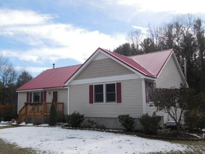 Ashland Single Family Home Active Under Contract: 705 Nh Route 175