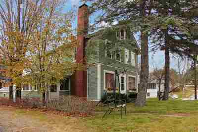 Holderness Single Family Home Active Under Contract: 830 Us Route 3