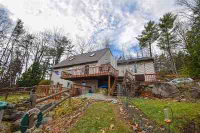 Milton Single Family Home Active Under Contract: 14 Crest Drive