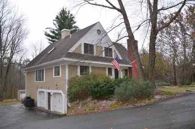 Gilford Single Family Home Active Under Contract: 25 Gunstock Hill Road