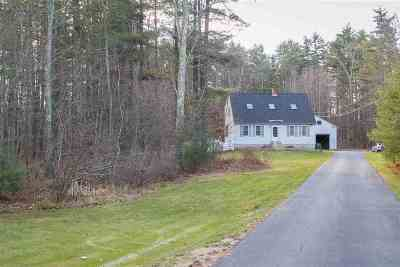 Somersworth Single Family Home Active Under Contract: 186 Blackwater Road