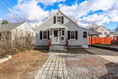 Manchester Single Family Home Active Under Contract: 437 Calef Road