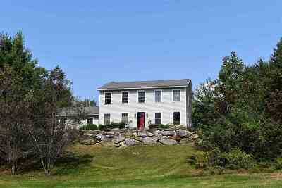 Chittenden Single Family Home For Sale: 16 Night Pasture Lane Lane