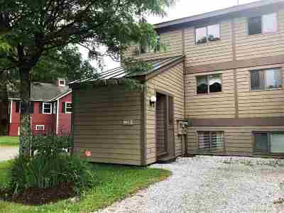 Cambridge Condo/Townhouse For Sale: 2 Mountainview At Smugglers Notch Resort