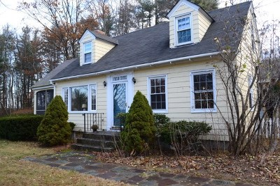 Milford Single Family Home Active Under Contract: 136 Federal Hill Road