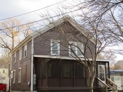 Rutland, Rutland City Multi Family Home For Sale: 38 Elm Street