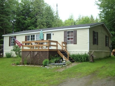 Whitefield Single Family Home For Sale: 663 Westside Road