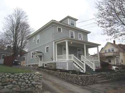 Manchester Single Family Home For Sale: 47 Linden Street