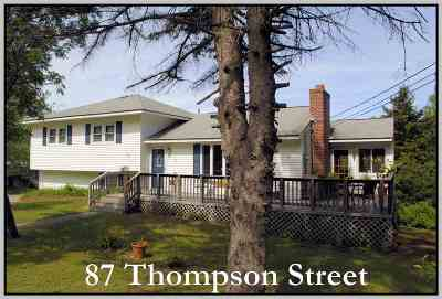 Ashland Single Family Home Active Under Contract: 87 Thompson Street