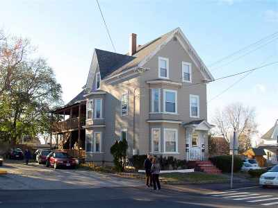 Manchester Multi Family Home Active Under Contract: 263 Massabesic Street