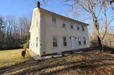 Single Family Home Active Under Contract: 102 Mountain Road