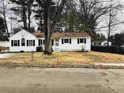 Merrimack Single Family Home For Sale: 20 Pinewood Drive
