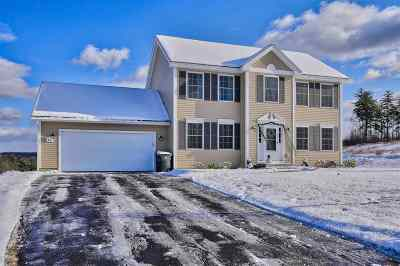 Hooksett Single Family Home Active Under Contract: 64 Crawford Lane