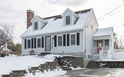 Hudson Single Family Home Active Under Contract: 6 Hill Street