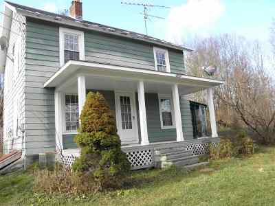 Poultney Single Family Home For Sale: 3418 Vt Route 31