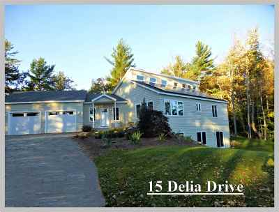 Holderness Single Family Home For Sale: 15 Delia Drive