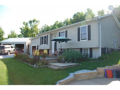 Fairfield Single Family Home For Sale: 5070 Vt 36 Route