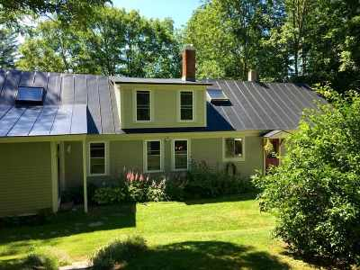 Orford Single Family Home Active Under Contract: 183 Dame Hill Road
