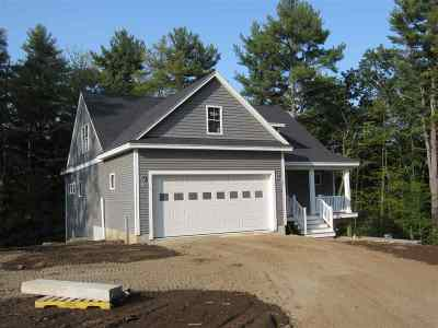 Strafford County Single Family Home For Sale: 16 Red Barn Drive #Lot 3