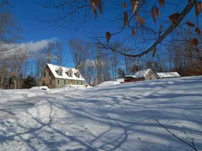Merrimack County Single Family Home For Sale: 74 Route 127