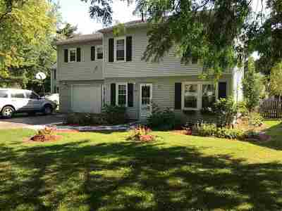 South Burlington Single Family Home Active Under Contract: 23 Brookwood Drive