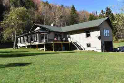 Essex County Single Family Home For Sale: 1461 Vt Rte 105w Highway