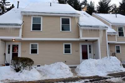 Concord NH Single Family Home Active Under Contract: $128,000