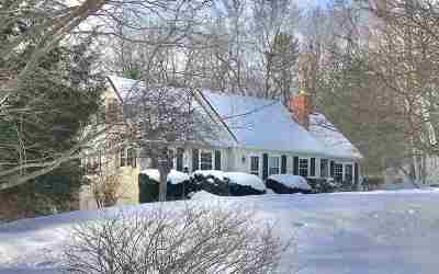 Hooksett Single Family Home Active Under Contract: 12 Legacy Drive